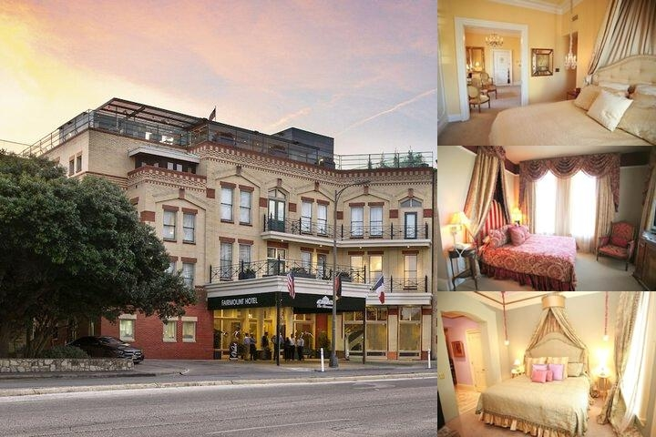 The Fairmount Hotel photo collage