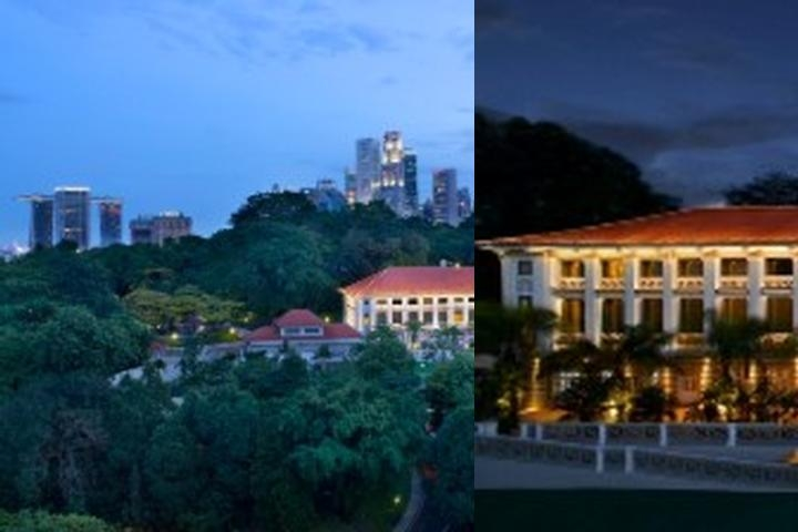 Hotel Fort Canning photo collage