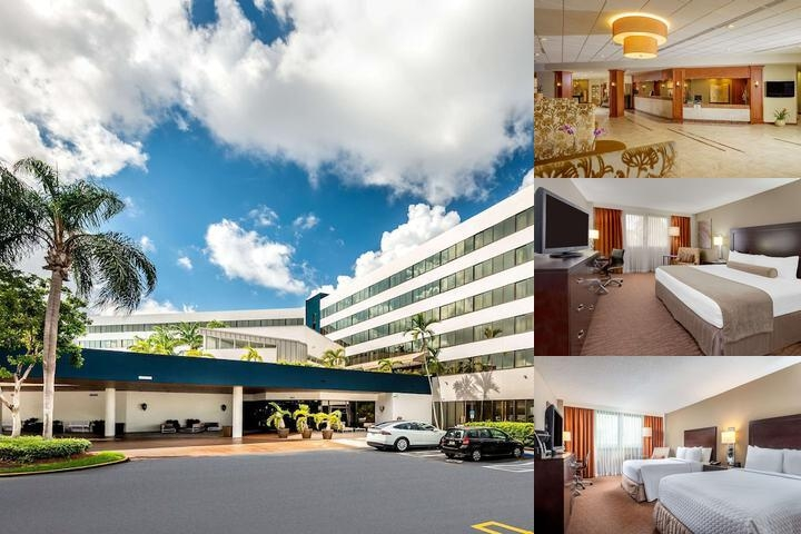 Crowne Plaza Miami International Airport photo collage