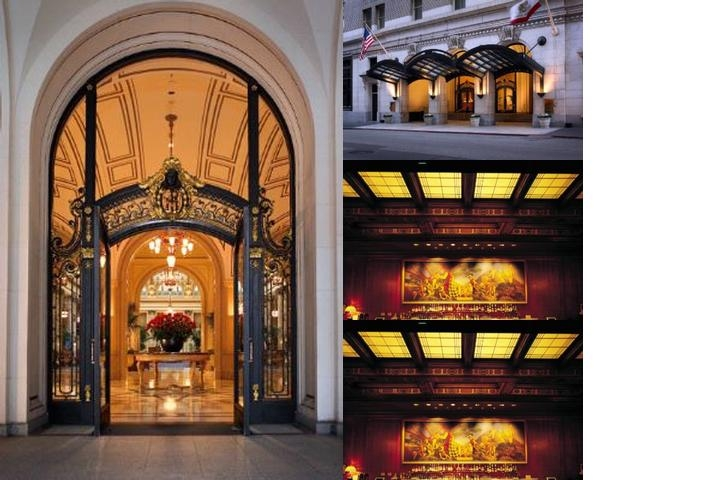 Palace Hotel Luxury Collection photo collage