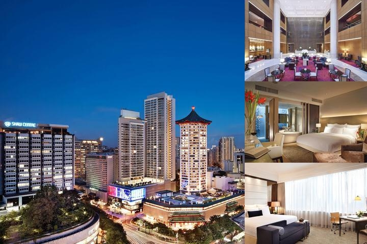 Singapore Marriott Tang Plaza Hotel photo collage