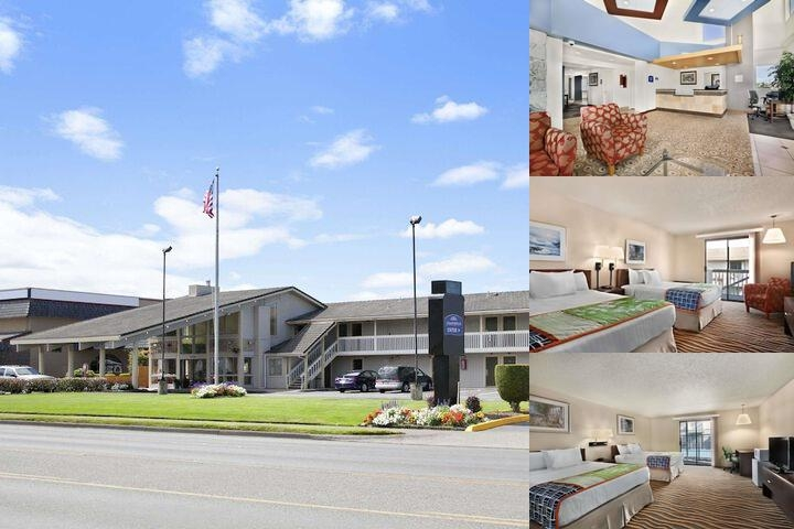 Howard Johnson Tacoma photo collage