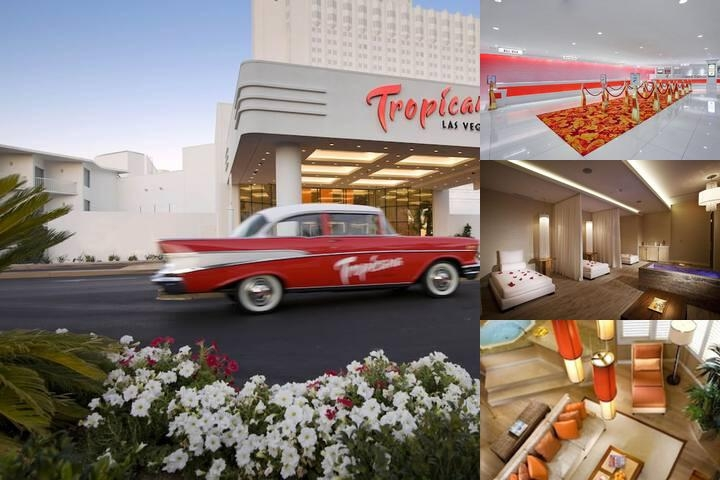 Tropicana Las Vegas a Doubletree by Hilton photo collage