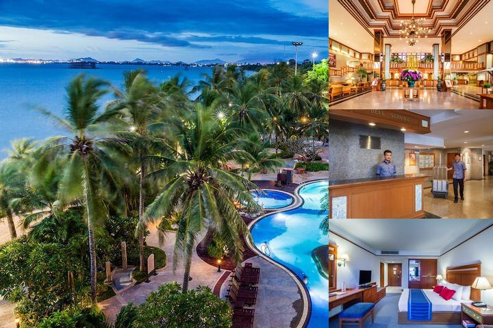 Cholchan Pattaya Beach Resort photo collage