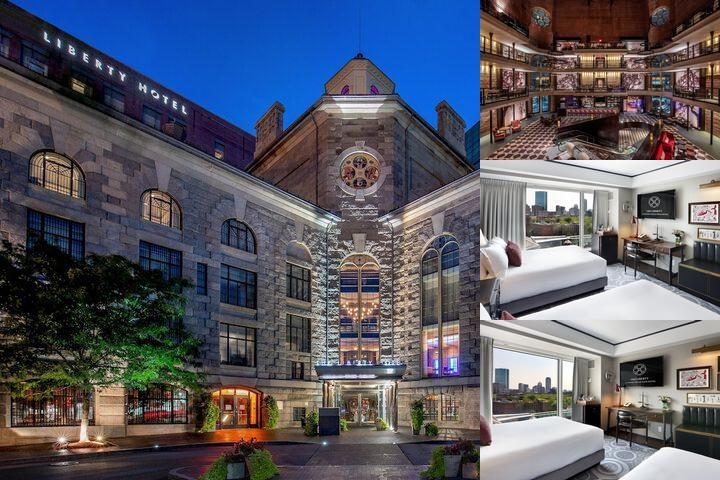 The Liberty, a Marriott Luxury Collection Hotel, Boston photo collage
