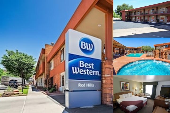 Best Western Red Hills photo collage