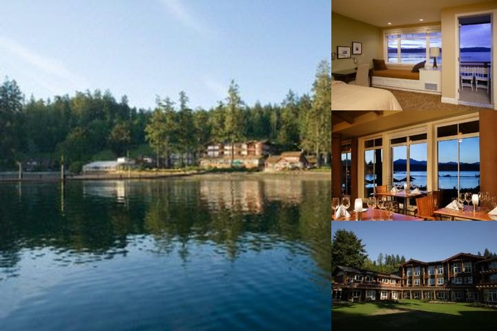 Alderbrook Resort & Spa photo collage