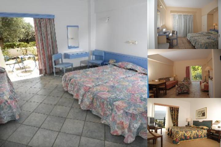 Holidays in Evia Beach Hotel photo collage