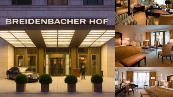 Breidenbacher Hof a Capella Hotel photo collage