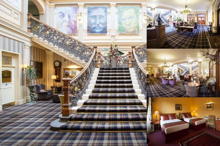 The Royal Highland Hotel photo collage