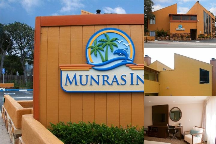 Munras Inn Monterey photo collage