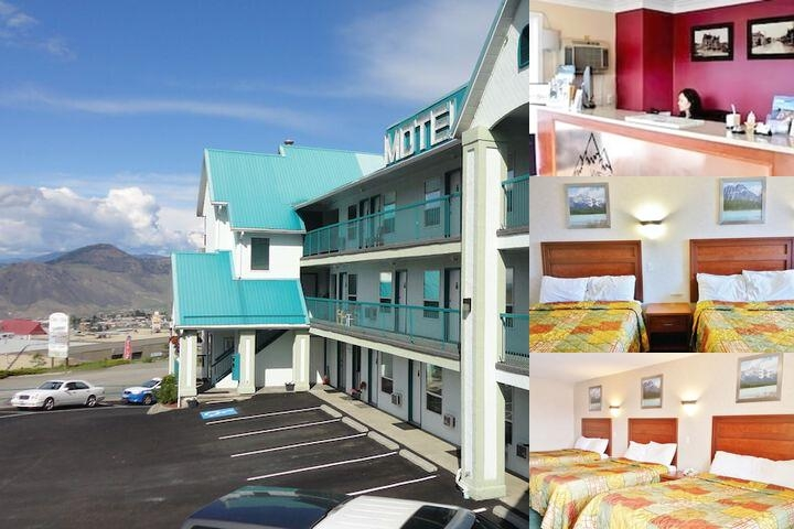 Alpine Motel Kamloops photo collage