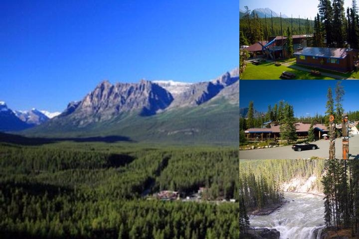 Sunwapta Falls Rocky Mountain Lodge photo collage