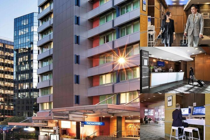 Novotel Wellington photo collage