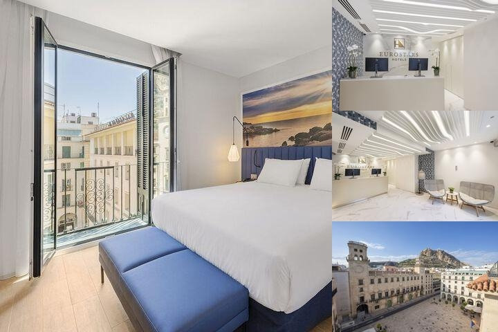 Eurostars Mediterranea Plaza Hotel photo collage