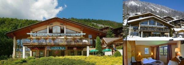 Hotel Alpen Roc photo collage