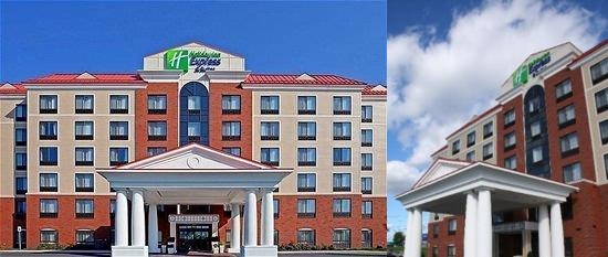Holiday Inn Express Hotel & Suites Latham photo collage