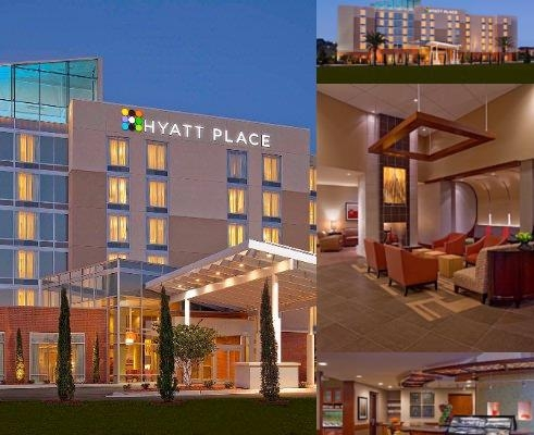 Hyatt Place Jacksonville Florida photo collage