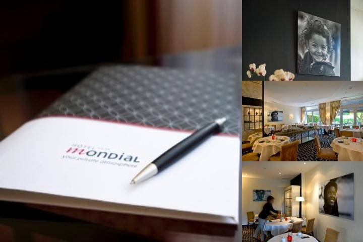 Hotel Mondial photo collage