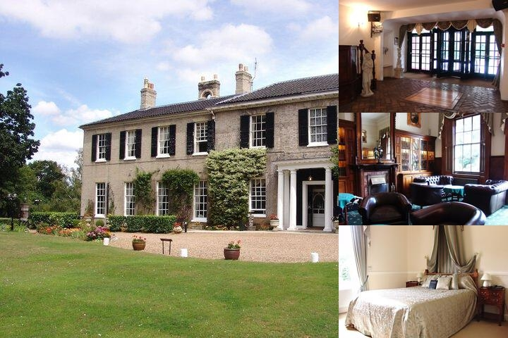 Caistor Hall Hotel photo collage