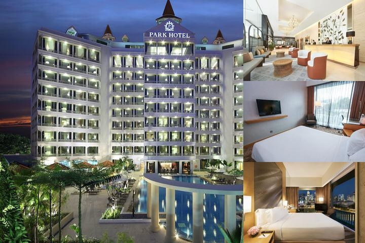 Park Hotel Clarke Quay photo collage