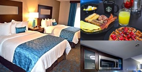 Maplewood Suites Extended Stay photo collage