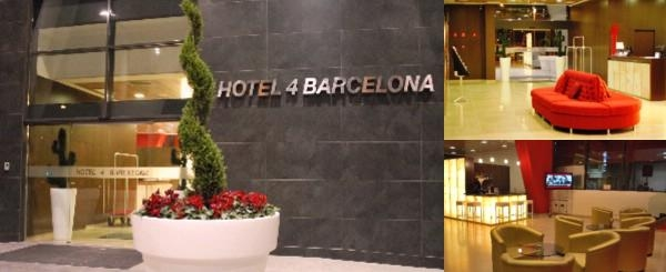 Hotel 4 Barcelona photo collage