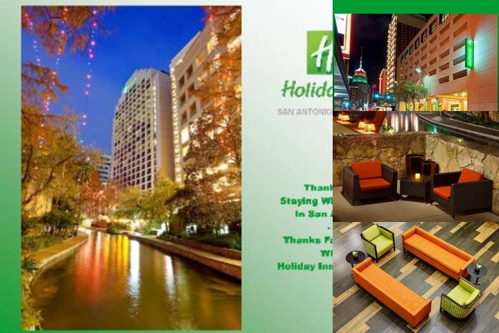 Holiday Inn San Antonio Riverwalk photo collage