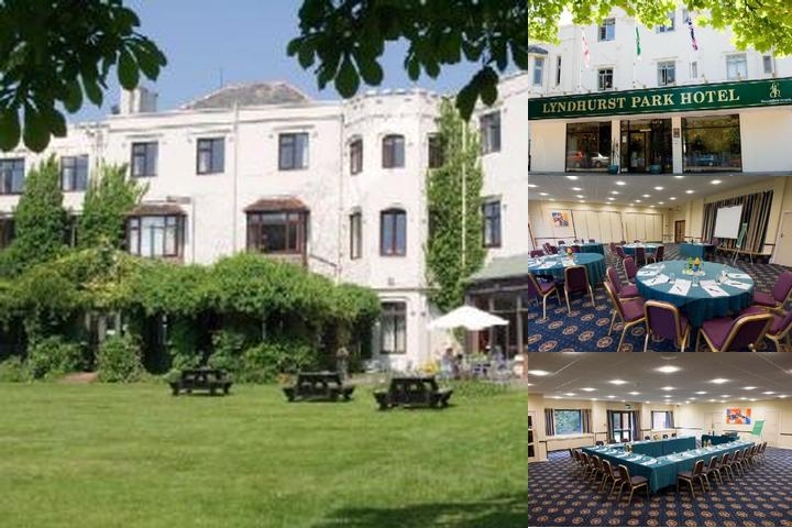 Lyndhurst Park Hotel photo collage