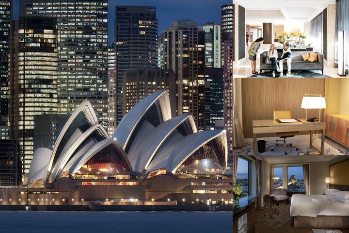Shangri La Hotel Sydney photo collage