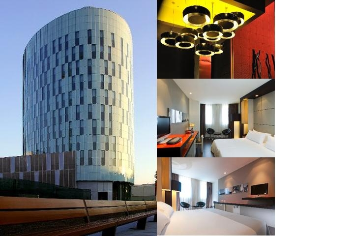 Tryp Barcelona Condal Mar Hotel photo collage