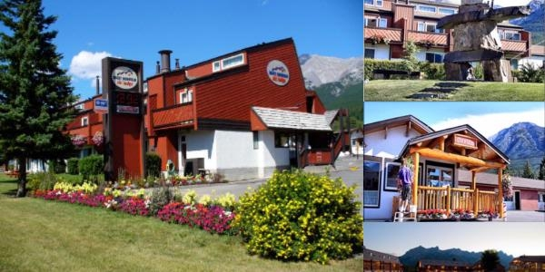 Rocky Mountain Ski Lodge photo collage