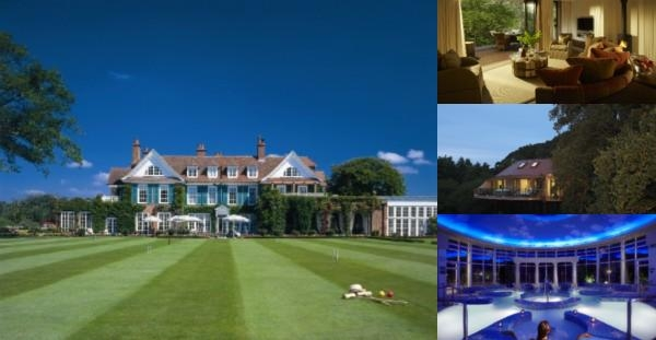 Chewton Glen photo collage