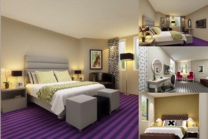 Adonis Hotel Paris Gennevilliers photo collage