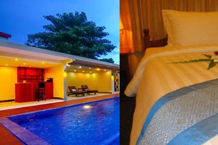 Monica Angkor Hotel photo collage