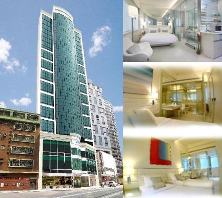 Iclub Wan Chai Hotel photo collage