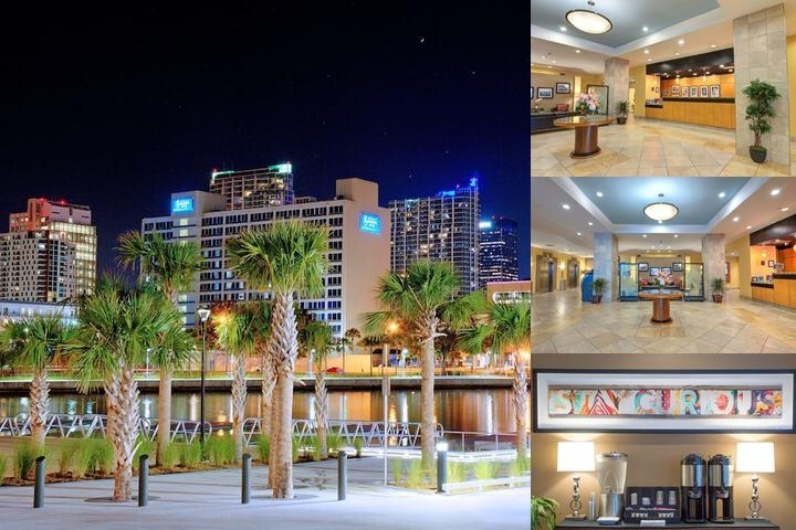 The Barrymore Hotel Tampa Riverwalk photo collage