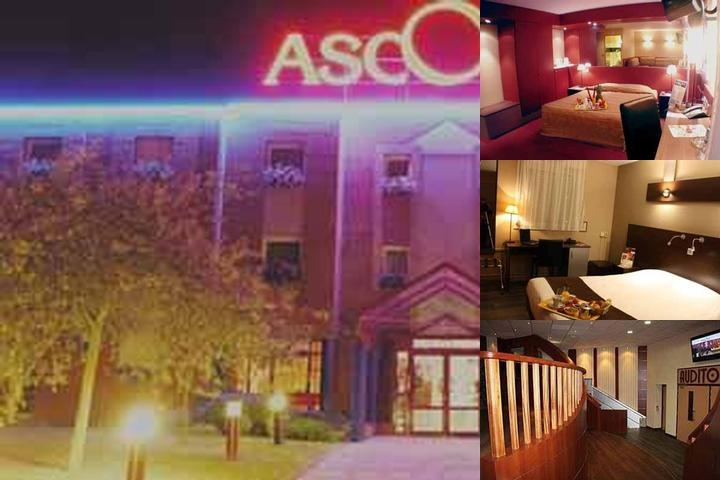 Hotel Ascotel Lille Grand Stade photo collage