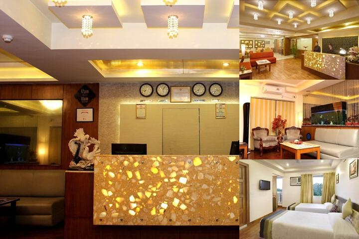 The Pearl Hotel photo collage