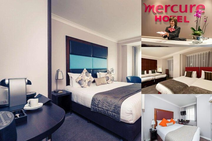 Mercure London Kensington photo collage