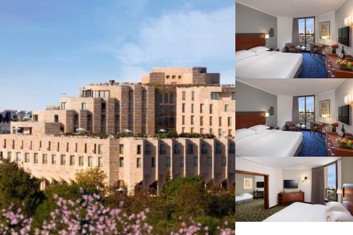 Inbal Hotel photo collage