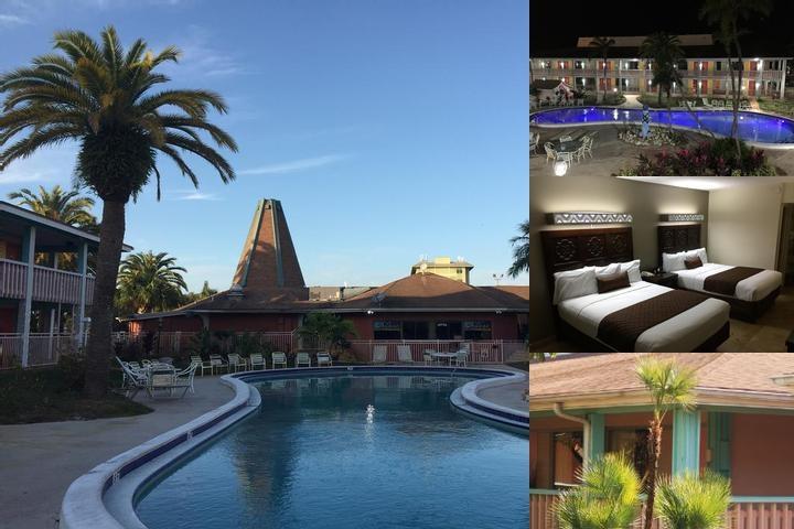 Holiday Hotel Resort Photo Collage