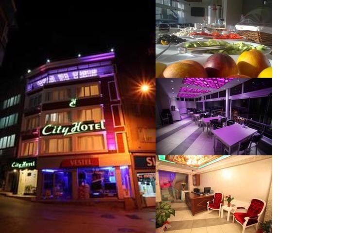 City Hotel Bursa photo collage
