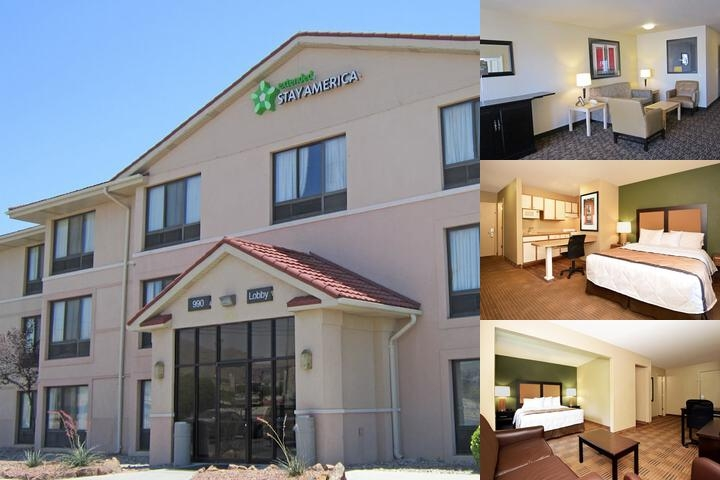 Extended Stay America West El Paso photo collage
