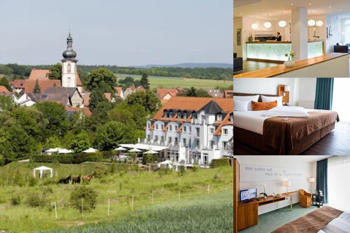 Landhotel Rügheim photo collage