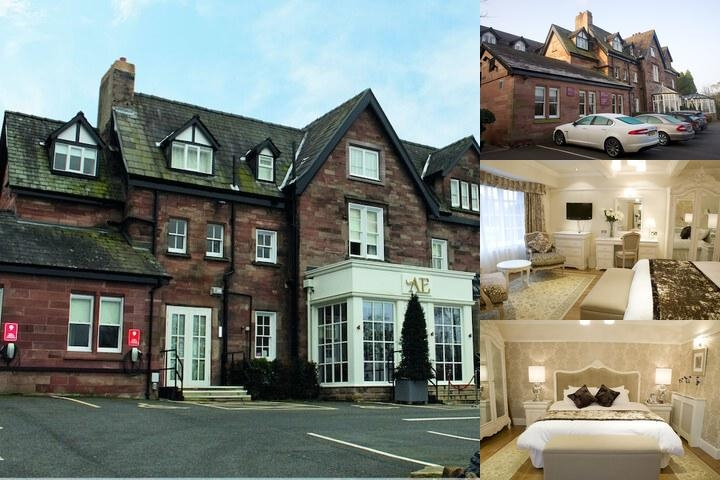 Alderley Edge Hotel photo collage