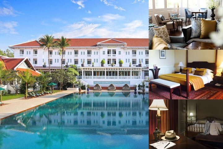 Raffles Grand Hotel D'angkor photo collage