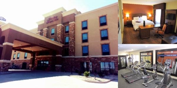 Hampton Inn & Suites Jamestown photo collage