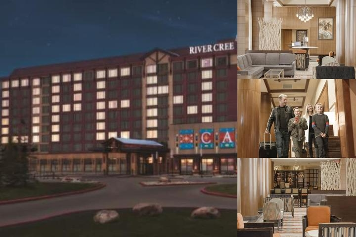 Edmonton Marriott at River Cree Resort photo collage