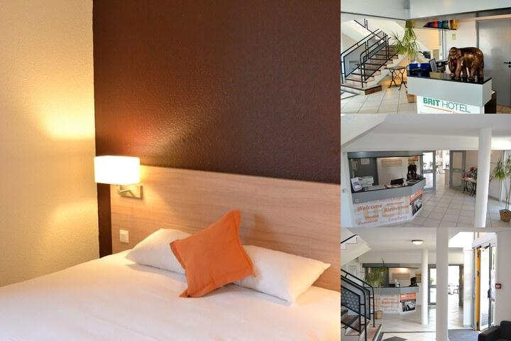 Hotel Balladins Tours Nord photo collage